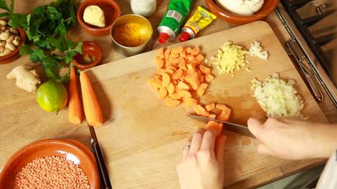 Rezept für Curry-Linsensuppe