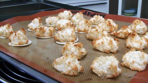 Kokosmakronen Einfache Geniale Rezepte Essen Und Trinken